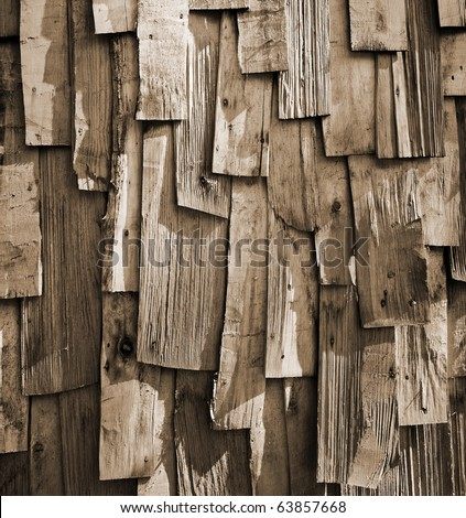 Old Wood Background. Old wooden planks. - stock photo