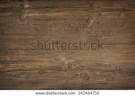 Old wood background overhead close up shoot - stock photo