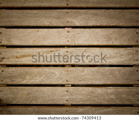 old wood boards - stock photo