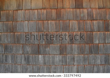 old wood brown and back background