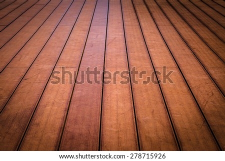 Old wood floor texture background - stock photo