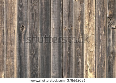 old wood plank texture background no paint - stock photo