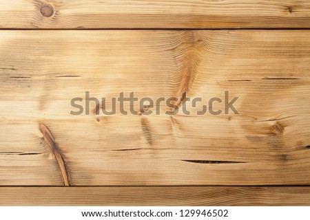 Old wood planks texture for background, top view - stock photo