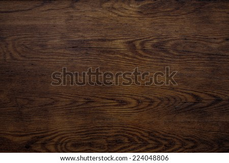old wood plaque texture or background - stock photo
