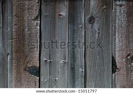Old wood siding - stock photo