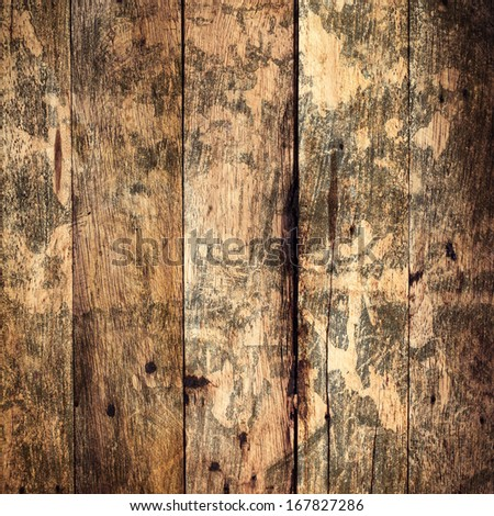 Old  Wood Texture Background. Grunge wooden weathered  oak textured  plank. - stock photo
