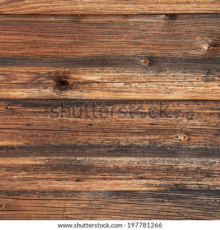 old wood texture brown background - stock photo