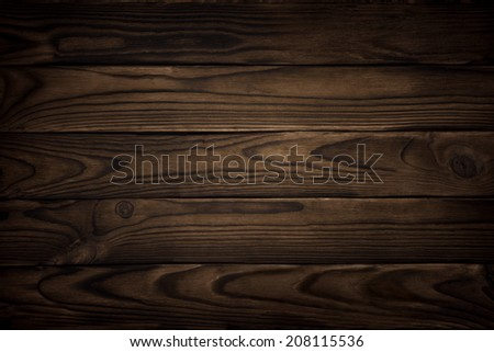 old wood texture, dark background - stock photo