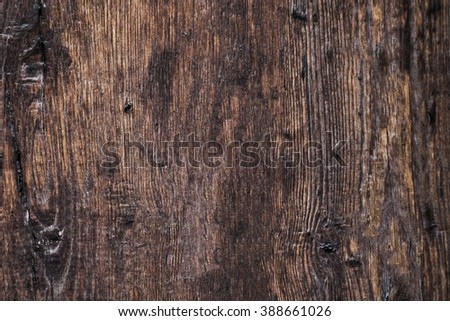 Old wood texture / Grunge retro vintage wooden board/  Dusty Background - stock photo