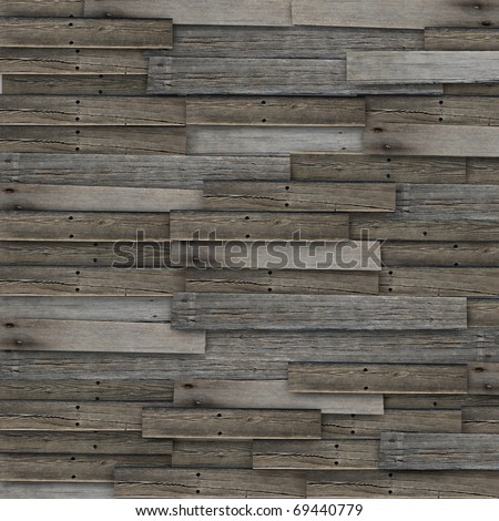 Old wood texture with natural patterns background - stock photo