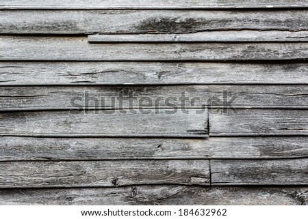 Old wood wall background texture. - stock photo