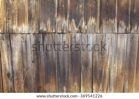 Old wood wall background wood texture background - stock photo