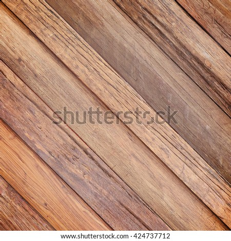 Old wood wall slant texture. background old panels - stock photo