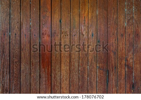 old wood wall surface as background - stock photo
