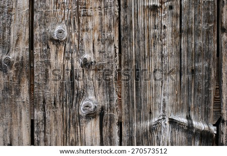 old wood wall texture close up. Fragment of the fence - stock photo