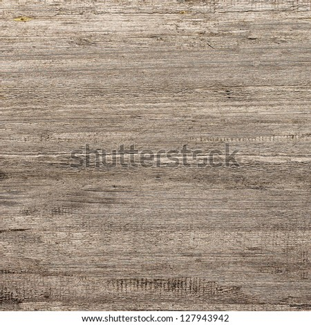 old  wooden background, horizontally placed - stock photo
