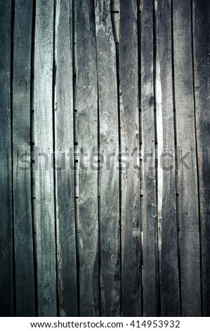 Old wooden desk background - texture - stock photo