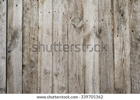 Old wooden surface and be used for background and texture - stock photo