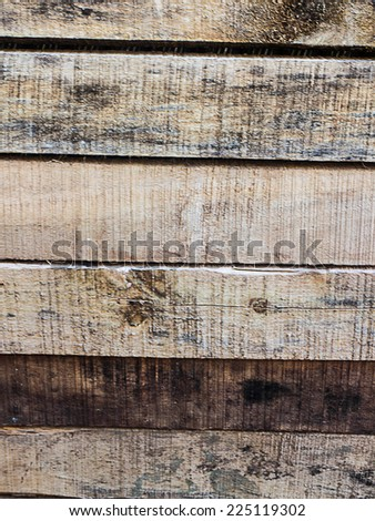 Old wooden uneven texture pattern background.