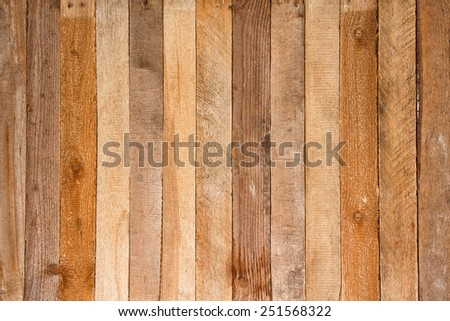 Old wooden wall background or texture - stock photo