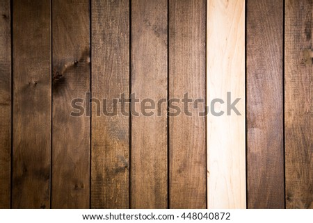 Old wooden wall, background photo texture. Toning photo.