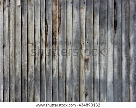 Old wooden walls, old house, decaying, rotting wood