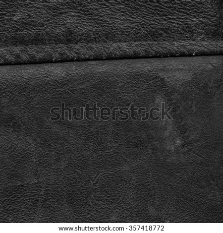 old worn black  leather background