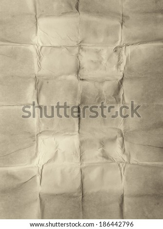 old wrinkled blank great as a background - stock photo