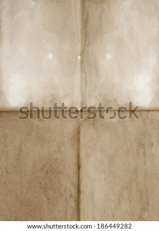 old wrinkled blank great for background - stock photo