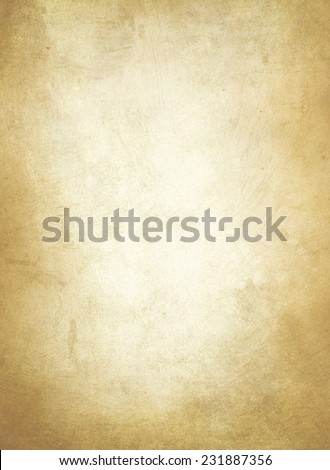 old yellow  paper texture or background  - stock photo