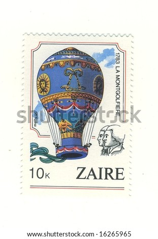 old zaire stamp