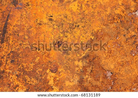 Old zinc fence background - stock photo