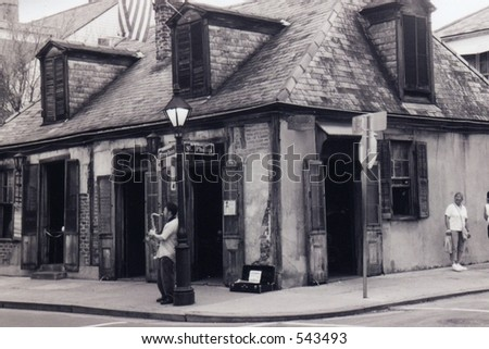 oldest bar in the united states - stock photo
