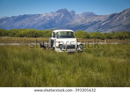 Oldtimer in New Zealand