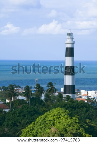 Olinda's lighthouse - Pernambuco - Brazil - stock photo