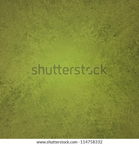 olive green background elegant design with vintage grunge background texture layout or green paper stationary or book cover of solid blank abstract paint wall or wallpaper for web background template - stock photo