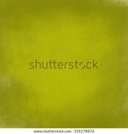 olive green background in natural organic colors with soft highlights, old faded antique grunge texture, and copy space - stock photo