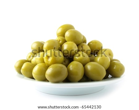 Olive Group - stock photo