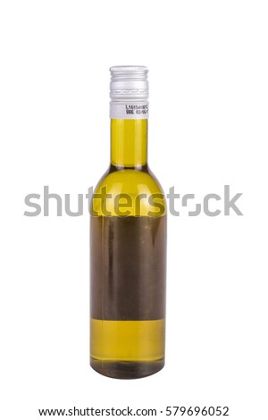 olive oil in a bottle