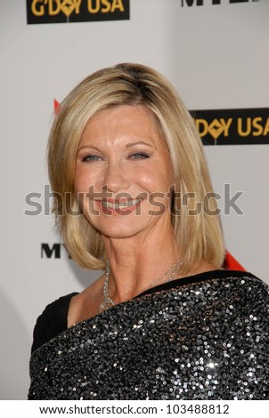 Olivia Newton-John at the G'Day USA Australia Week 2010 Black Tie Gala, Kodak Theater, Hollywood, CA. 01-16-10