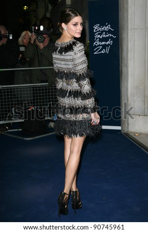 Olivia Palermo arriving for the 2011 British Fashion Awards, at The Savoy, London. 28/11/2011 Picture by: Alexandra Glen / Featureflash - stock photo