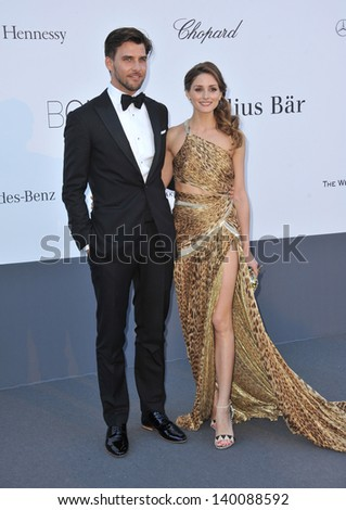 Olivia Palermo at amfAR's 20th Cinema Against AIDS Gala at the Hotel du Cap d'Antibes, France May 23, 2013  Antibes, France - stock photo