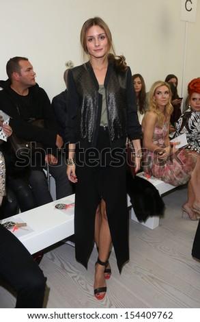 Olivia Palermo at London Fashion Week SS14  - Matthew Williamson - Arrivals London, England 15/09/2013 - stock photo