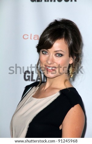 Olivia Wilde at the 2011 Glamour Reel Moments Premiere, DGA, Los Angeles, CA 10-24-11