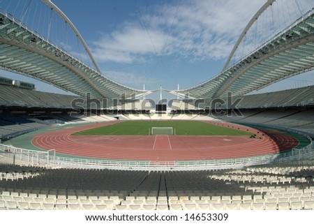 Olympic Stadium, Athens (Greece) - stock photo