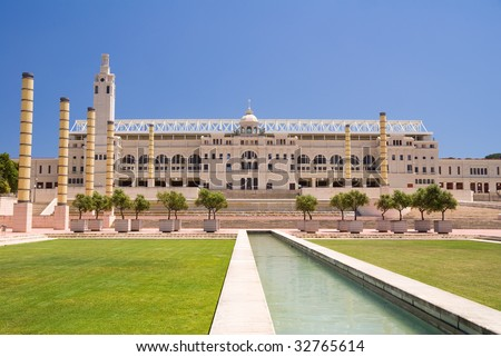 Olympic Stadium of Barcelona, Spain - stock photo