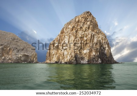 Oman. Arab fjords. A fjord is a narrow, winding and deeply cut in the dry Bay with rocky shores. The length of the fjord in a few (often dozens) times the width.