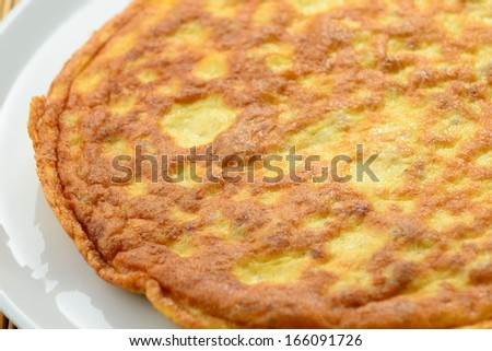 Omelette homemade
