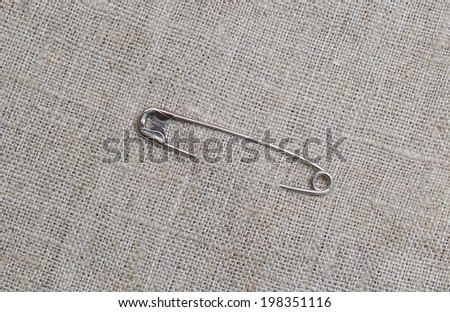 on fabric - stock photo