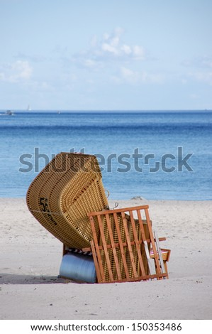 On the beach of Gr�¶mitz, Baltic Sea, Germany
